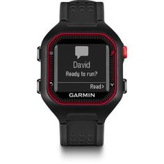GPS and Running Watches 75230: Garmin Forerunner 25 (Large) - Black And Red -> BUY IT NOW ONLY: $114.99 on eBay!