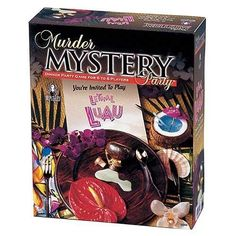 NEW Lethal Luau : Murder Mystery Party HAWAIIAN DINNER PARTY GAME FUN