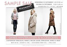 Sample sale Beaumont Amsterdam -- Amsterdam -- 25/09-26/09