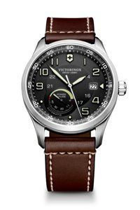 Victorinox Swiss Army®  Airboss  Automatic Leather Strap Watch available at  probably my favorite 80bc49bd17c