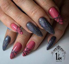 Nageldesign – Nail Art – Nagellack – Nail Polish – Nailart – Nails - Nagel - Beauty - Make UP Cute Nails, Pretty Nails, Nails Today, Latest Nail Art, Nagel Gel, Nail Decorations, Creative Nails, Halloween Nails, Nail Arts