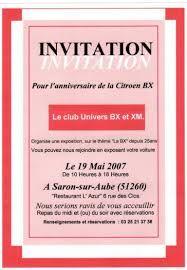 invitation anniversaire surprise