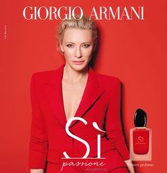 Discover Giorgio Armani Si Passione Fragrance's 2018 advertising campaign featuring actress Cate Blanchett joined by supermodels Adwoa Aboah and Sara Sampaio. In charge of photography was Tom Munro. Perfume Giorgio Armani, Armani Fragrance, Cate Blanchett, Sara Sampaio, Parfum Chloe, Perfume Adverts, Le Marais Paris, Beauty Ad, Beauty