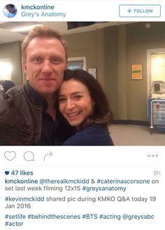 Kevin and Caterina