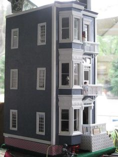 Re-done 40 year old dollhouse
