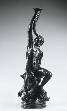 Triton, 16th century (1560–70)  Giovanni Bologna, called Giambologna (ca. 1529–1608)  Made in Florence, Italy  Bronze