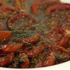 Baked tomatoes country style