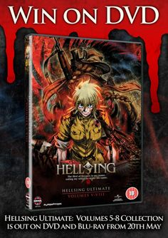 WIN Hellsing Ultimate: Vol 5-8 Collection | Anime Focus