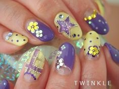 Lilac and Yellow