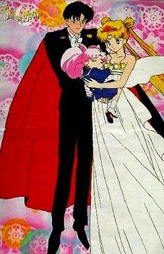 Sailor Moon - USAGI & MAMORU