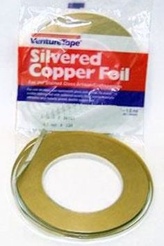 36-yds-Silvered-Foil-Tape-3-8-Self-Adhesive-Metal-Tape-For-Jewelry-Altered