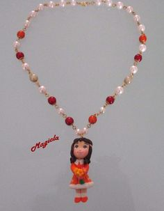 Collana con ciondolo bambolina, by Magicla, 5,00 € su misshobby.com