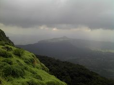 View from Bhimashankar! Bhimashankar situated in Maharashtra is one of the twelve Jyotirling.