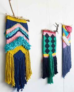 Beginning of a series #weaving #organiccotton