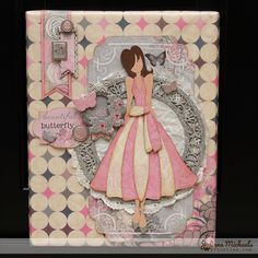 Julie Nutting Classy Beautiful You Mixed Media Canvas