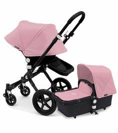 Bugaboo Cameleon 3 Stroller - All Black/Soft Pink