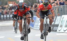 Tirreno-Adriático: Van Avermaet bate Sagan no sprint