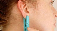 Ce ti se intampla la corp daca prinzi un cleste de rufe de ureche