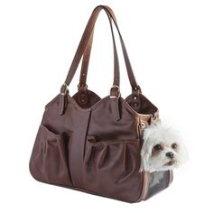 Toffee Metro Couture Bag from Petote.com #DogCarrier
