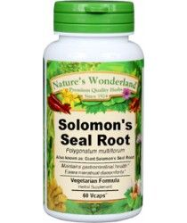 whole solomon's seal root | solomon seal root capsule | solomon seal