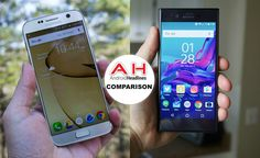 Phone Comparisons: Samsung Galaxy S7 vs Sony Xperia XZ #android #google #smartphones