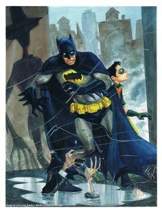Batman and Robin by Tom Fowler