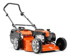 """A robust but easy to use lawn mower with 46cm (18"""") deck, powerful DOV four stroke engine and four cutting blades to give a superior cut and finish to your lawn. Features include dual ball bearing wheels, comfort grip folding handles with quick action cam locks, safety zone starting, large plastic catcher and eight cutting heights. Comes complete with mulch insert."""