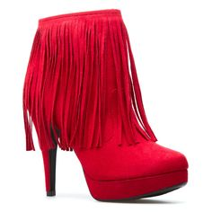 My new red fall bootie!  whoo hoo