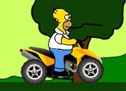 Homer Simpson ATV