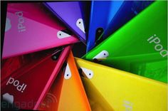 Colorful iPods