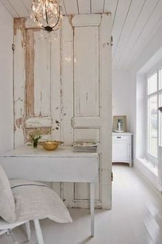 Old Doors As Room Dividerwhy Not Maybe Between Kitchen And Either Dining Area Or Living Roomdoes Divide The Whole Roombut Makes A Good