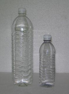 Exemplo 1: Garrafa de Água.  Classificação: PET - polietileno tereftalato. Local encontrado: Internet.