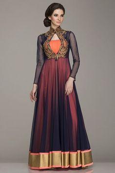 Zari embroidered | Kamaali Couture