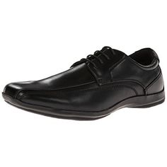 Kenneth Cole Mens Evander Leather Waterproof Oxfords