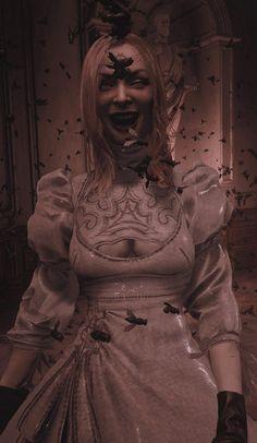 Resident Evil, Anime Friendship, Video Games Girls, Village Girl, Marvel, Art Reference, Daughter, Statue, Lady