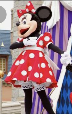 Minnie Mouse Costume, Disney Characters, Fictional Characters, Costumes, Dress Up Clothes, Fantasy Characters, Men's Costumes, Suits