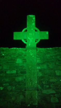 Green Donegal, Ray cross, oldest and tallest high cross in Donegal. Donegal, North West, Coast, History, Green, Historia