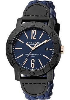 Bulgari - Bulgari Bulgari 40 mm - Carbon Fiber Watch 102634 BBP40C3CGLD