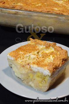 """É p saborear gelado o Doce de Banana com Creme ou """"Manezinho de Banana"""" é delicioso e fácil! http://www.gulosoesaudavel.com.br/2012/05/25/doce-de-banana-com-creme/…"""