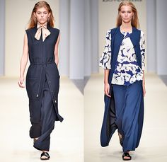 Lovechild 1979 2016 Spring Summer Womens Runway Catwalk Looks Nué Group - Copenhagen Fashion Week Denmark CPHFW - Onesie Jumpsuit Coveralls Playsuit Pussycat Bow Bow Vestdress Tiles Wide Leg Trousers Palazzo Pants Shorts Flowers Floral Print Pattern Motif Bombersweater Jumper Silk Cherries Fruits Maxi Dress Pinstripe Long Shirt Stripes Pantsuit Outerwear Blazer Jacket Kimono Wrap Check Grid