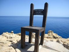 On Gavdos, a little island south of Crete...where you can sit on the very edge of Europe https://magicabeaute.files.wordpress.com/2011/12/61088_362850830472035_1447467656_n.jpg