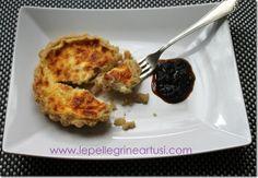 Le pellegrine Artusi: Crostatine salate con mousse di cipolla di Tropea