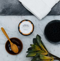 Unmask your natural beauty with our deep cleamsing and clarifying African Black Soap Mud Mask. African Black Soap, Spot Treatment, Facial Care, Skin Care Regimen, Shea Butter, Mud, Natural Beauty, Healthy Food, Identity