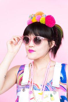 Gear Up for Festival Season With This DIY Pom Pom Headband via Brit + Co