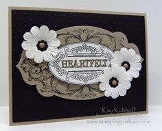 Stamping to Share: 8/5 Stampin' Up! Layered Labels