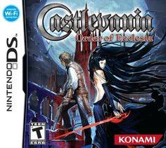 Castlevania Order of Ecclesia is a Platform-adventure video game for Nintendo DS. This game is developed and published by Konami. Nds Rom are playable on Nintendo Ds, Nintendo Games, Nintendo Switch, Castlevania Games, Sir Integra, Viewtiful Joe, Handheld Video Games, Video Game Collection, Monsters