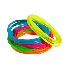 Neon Jelly Bracelet Set
