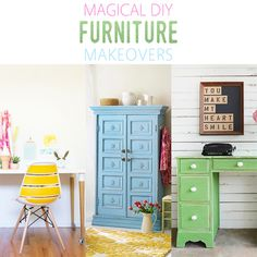 Magical DIY Furniture Makeovers