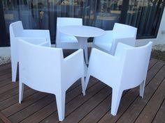 #戶外餐桌椅-MEAT GQ STEAK橡木炙烤牛排館