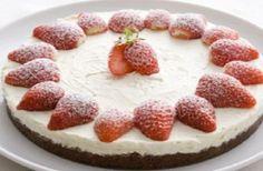 Receita de Cheesecake de Morango | Doces Regionais